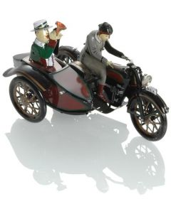 BOOSTER Tin Sidecar 2 Modell schw. 18cm